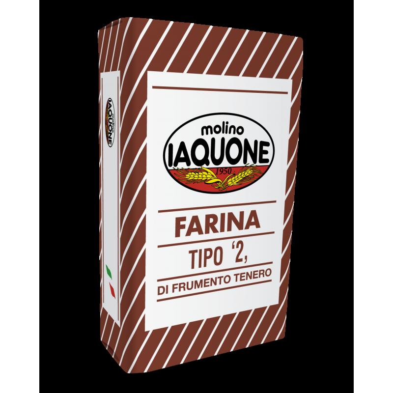 """FARINA TIPO 2 """"SACCO MARRONE"""""""