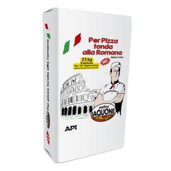 PER PIZZA TONDA ALLA ROMANA